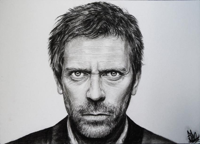 Hugh Laurie par Josca